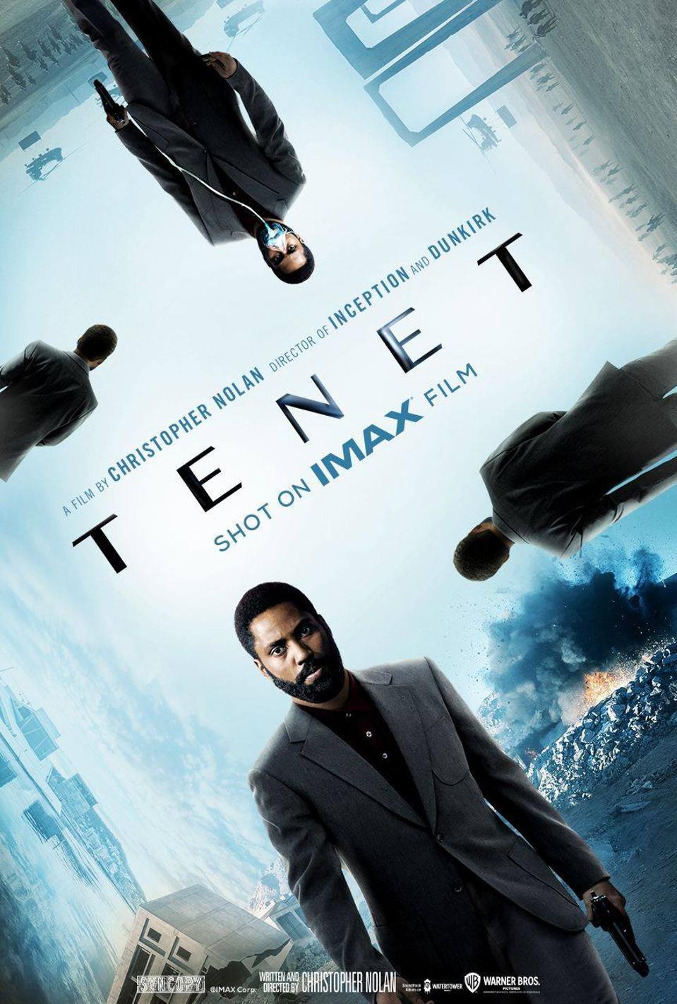 IMAX Tenet poster