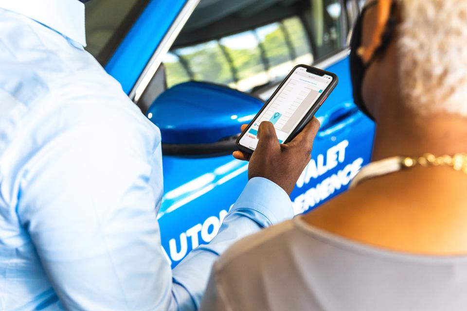 Vehicles could be parked and retrieved without a driver via a smartphone app.