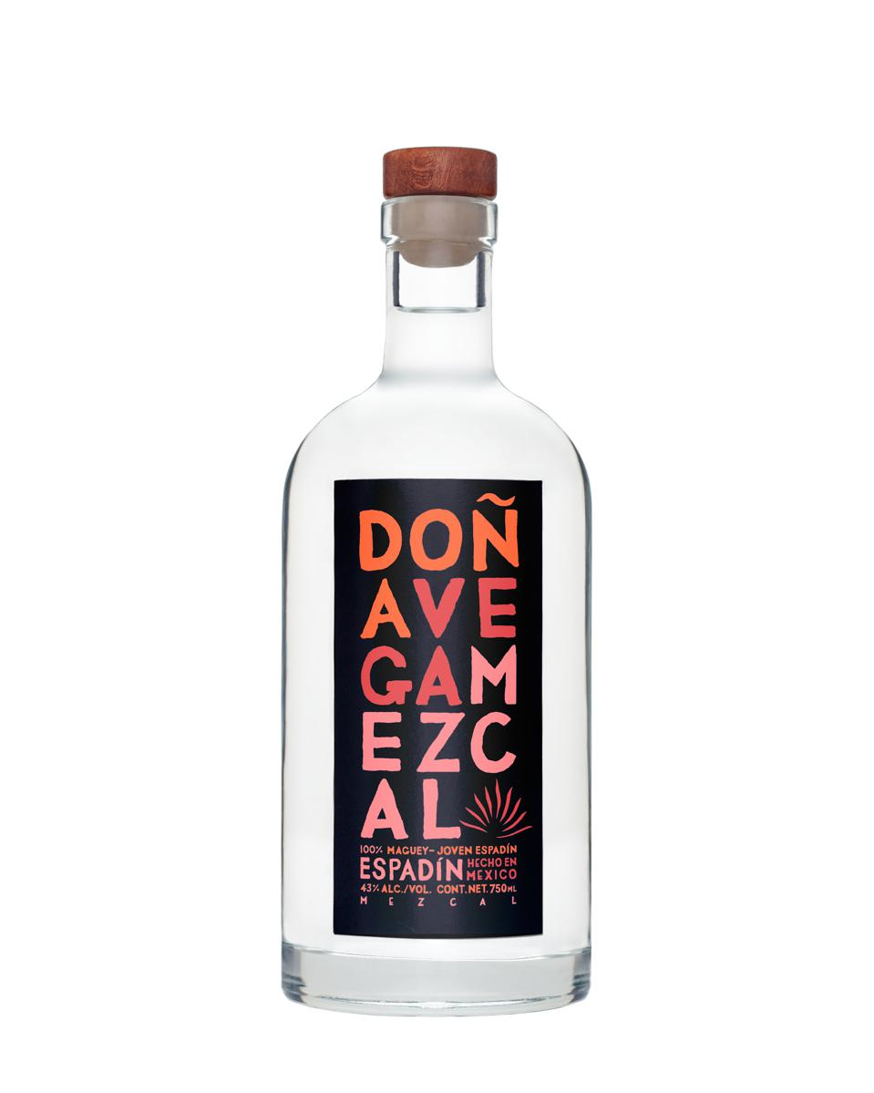 A bottle of Doña Vega Espadín.