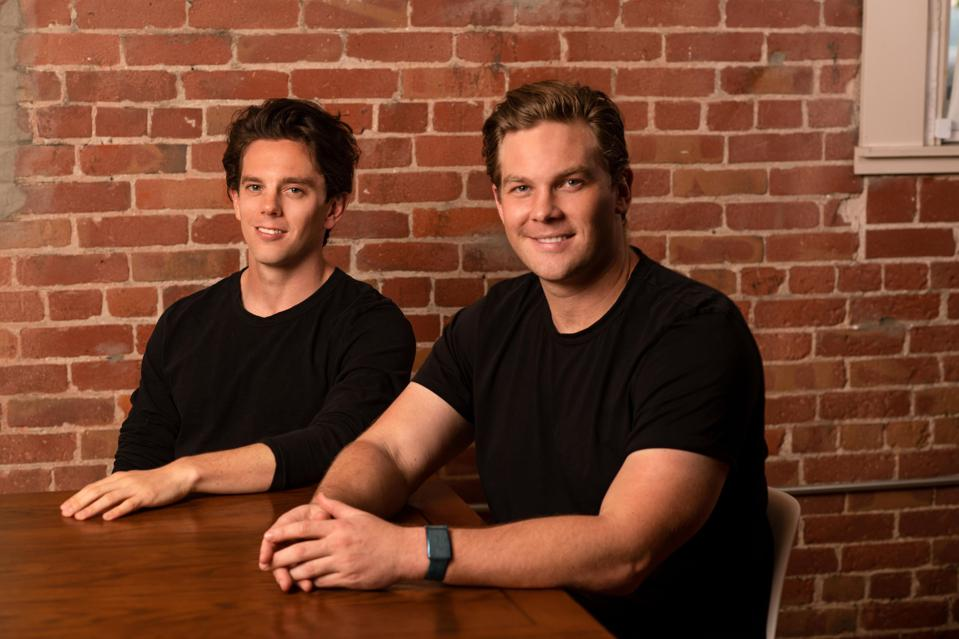 Framework Ventures co-founders Vance Spencer on left and Michael Anderson on right