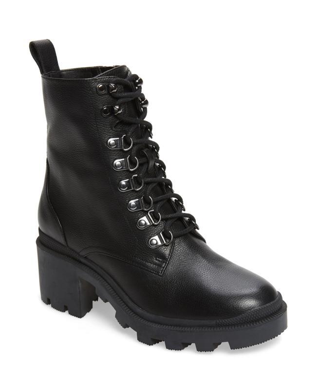BP. Taylor Block Heel Combat Boot