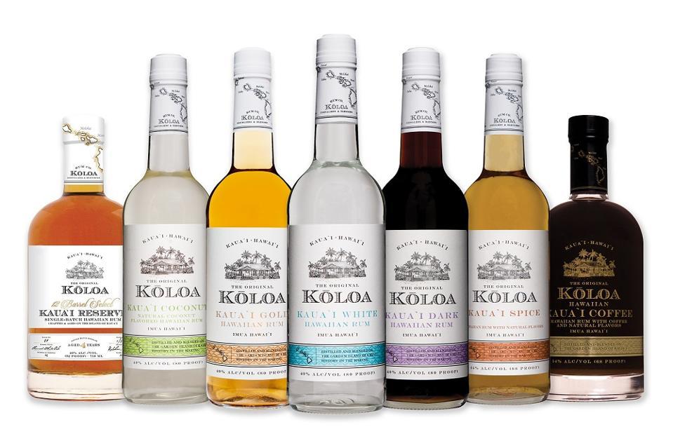 Koloa rums from Hawaii