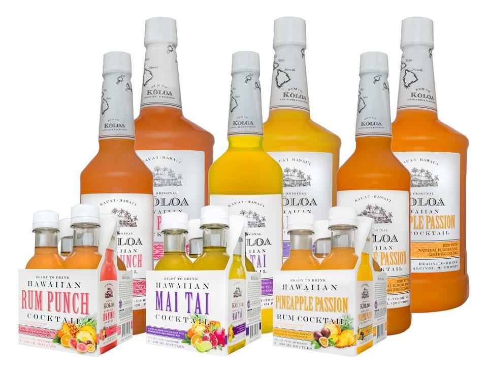 Koloa pre-made rum cocktails