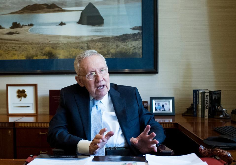 Former Senator Harry Reid, treatment for pancreatic cancer with Soon-Shiong,