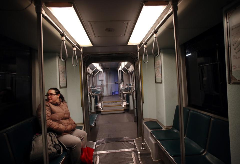 Ghost Train: Ridership is Down and the MBTA Has Significantly Reduced Service During Pandemic