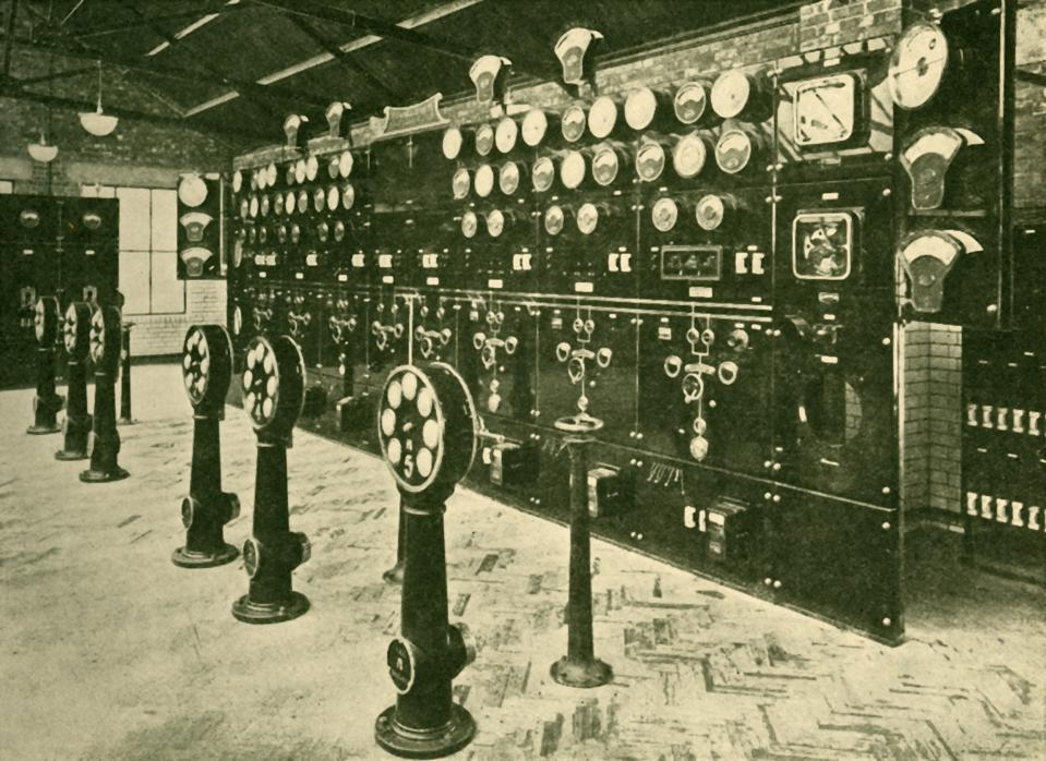 Section Of Switchboard In Power House