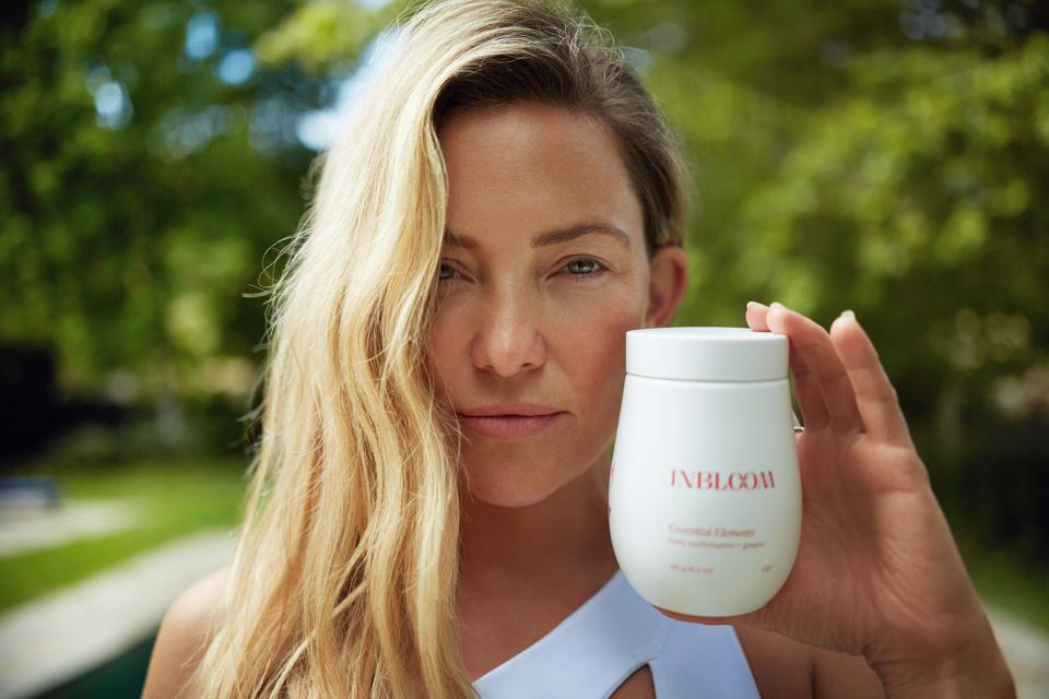 Kate Hudson launches a new nutrition company, INBLOOM.