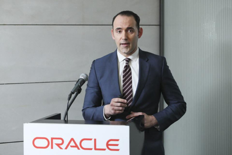 Steve Zivanic, Oracle's global vice president of database and autonomous services.