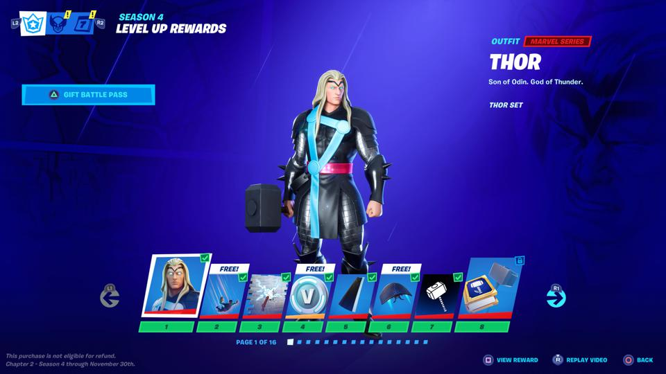 Here Are All The Fortnite Chapter 2 Season 4 Battle Pass Skins And Their Special Powers