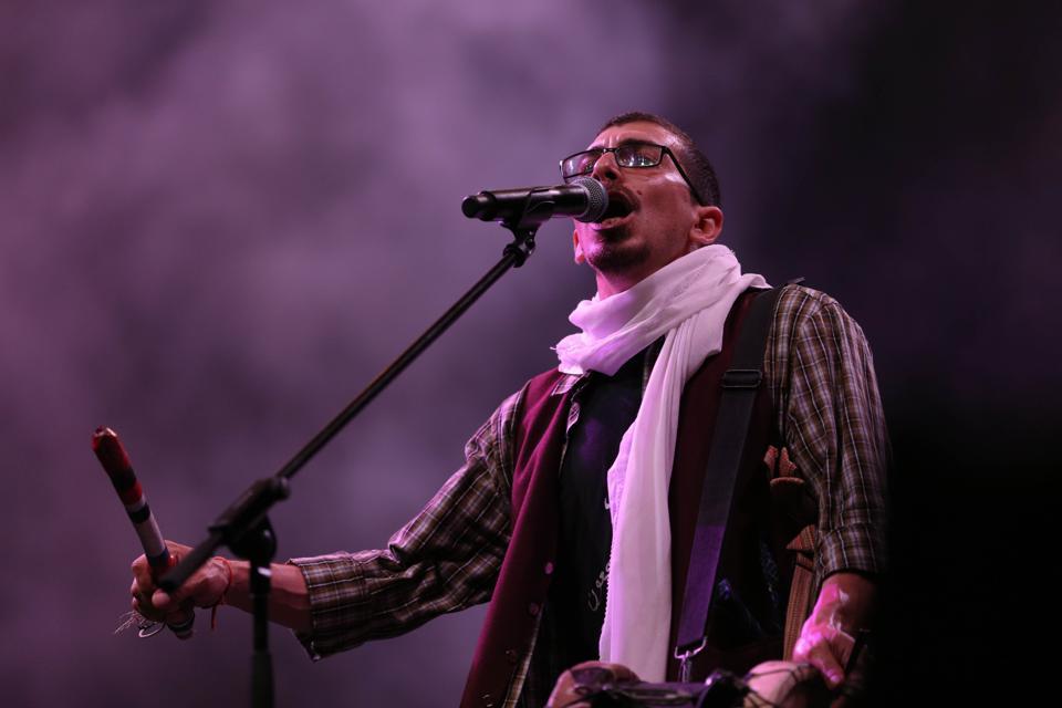 47SOUL Folk Art performs - Palestine International Festival