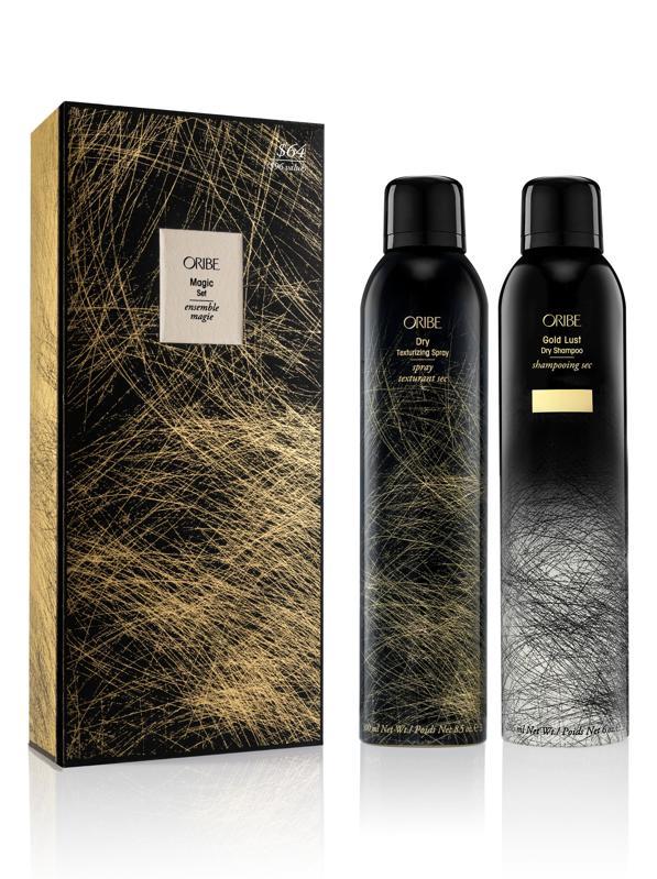 Oribe Full Size Gold Lust Dry Shampoo & Dry Texturizing Spray Set