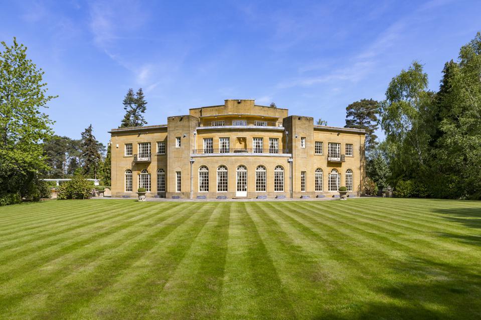 The rear of Hamstone House