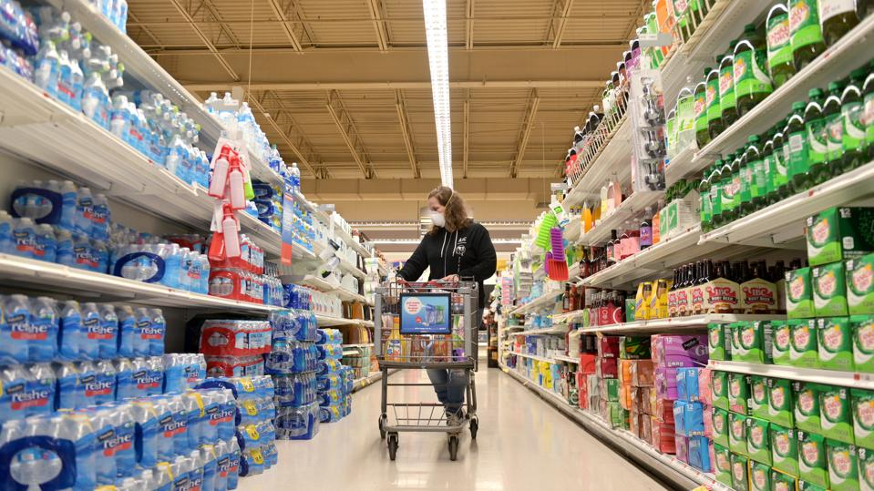 Personal Shopping Delivery Service Instacart Adds Thousands To Their Workforce As Demand For Shoppers Skyrockets During Coronavirus Pandemic