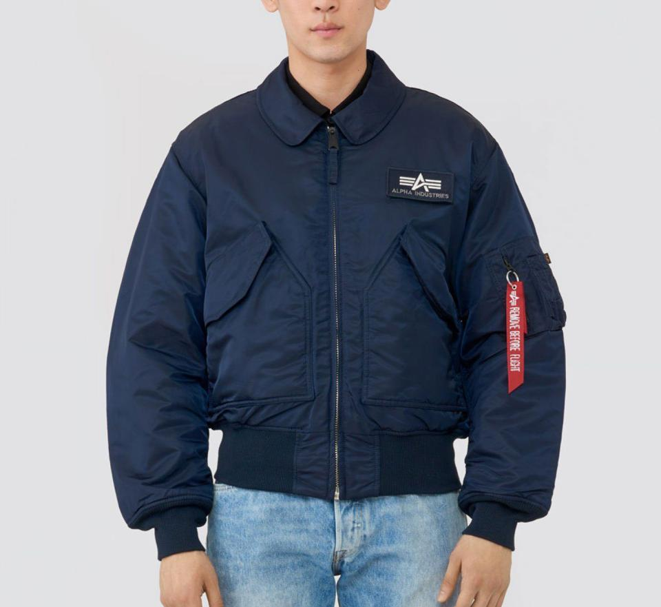 Originally issued to USAF and Navy pilots, the CWU 45/P Flight Jacket is a classic staple piece for those looking for a trendy yet durable jacket. The authentic military vibe is showcased through its thicker fill, ribbed knit cuffs and collar and front zipper closure with storm flaps to ensure the perfect insulation.