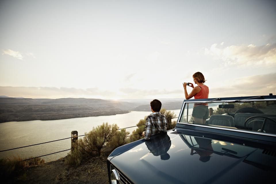 Americans took short road trips this summer.