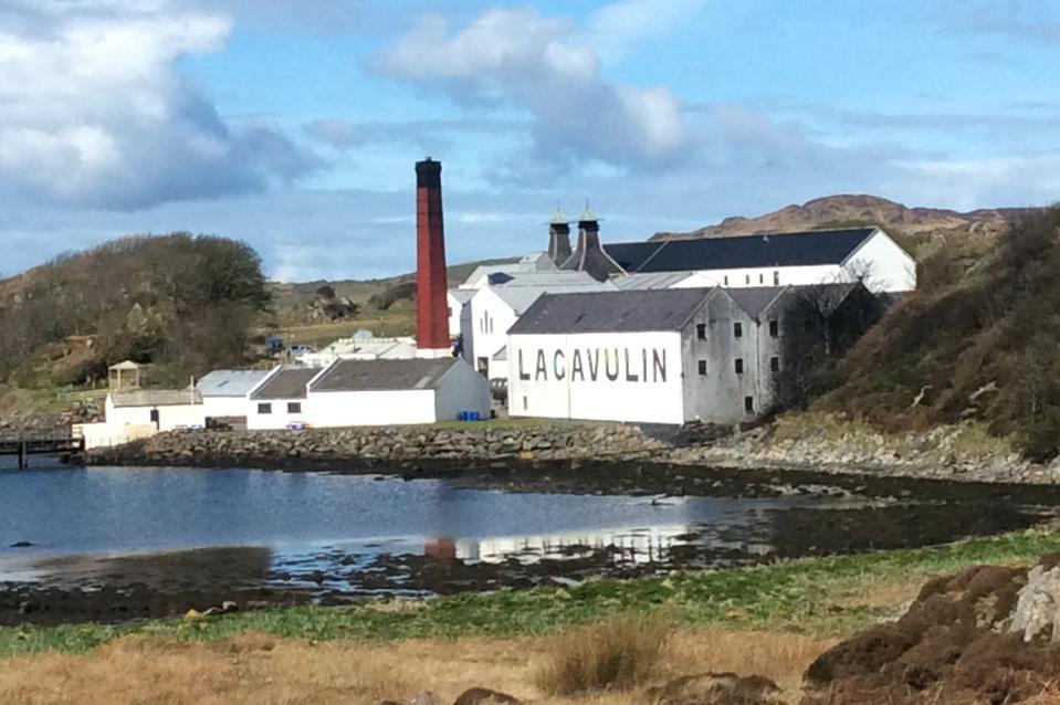 The Lagavulin Distillery on Islay
