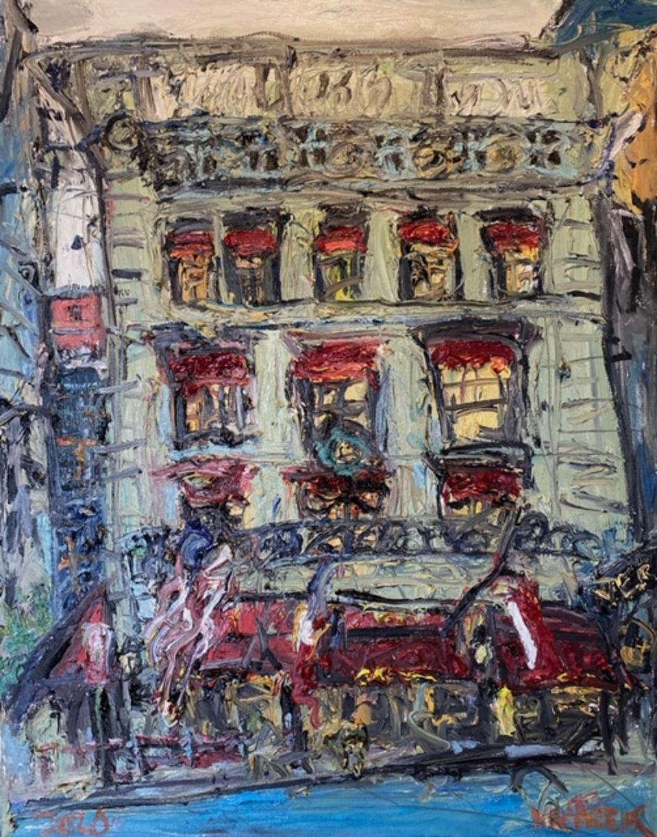 Chris Kappmeier Studio, Cartier, New York, Fifth Avenue, luxury, jeweler, art, architecture,  van Gogh