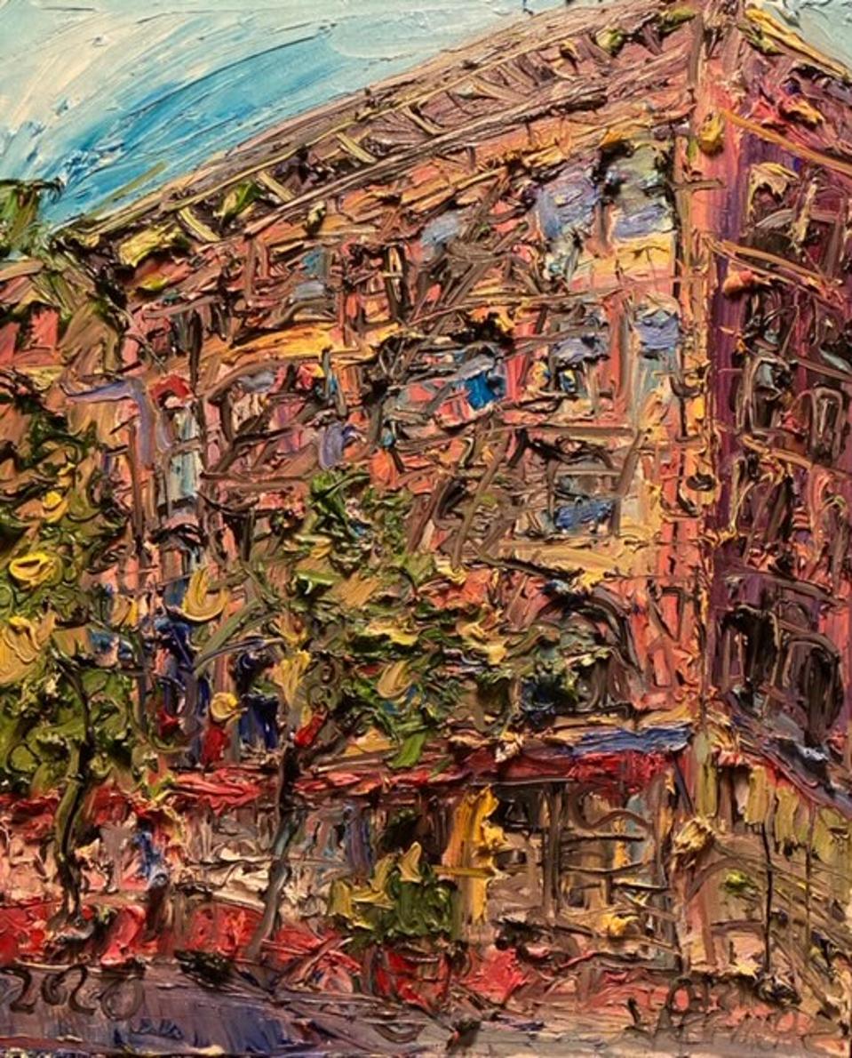 Chris Kappmeier Studio, Tenement Museum, immigration, New York, art, architecture, Vincent van Gogh
