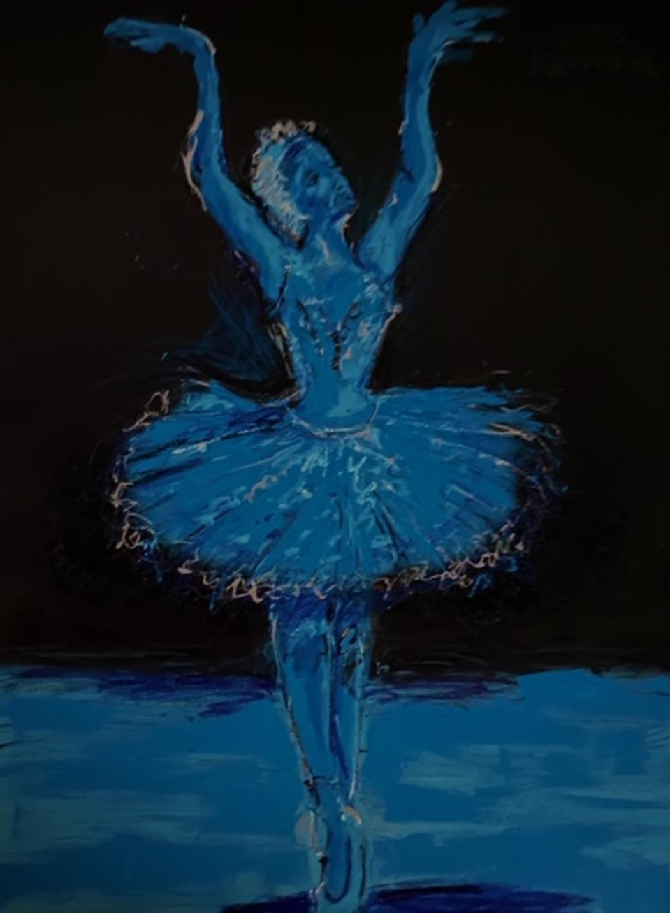 Chris Kappmeier Studio, art, ballerina, dance, tutu, Vincent van Gogh