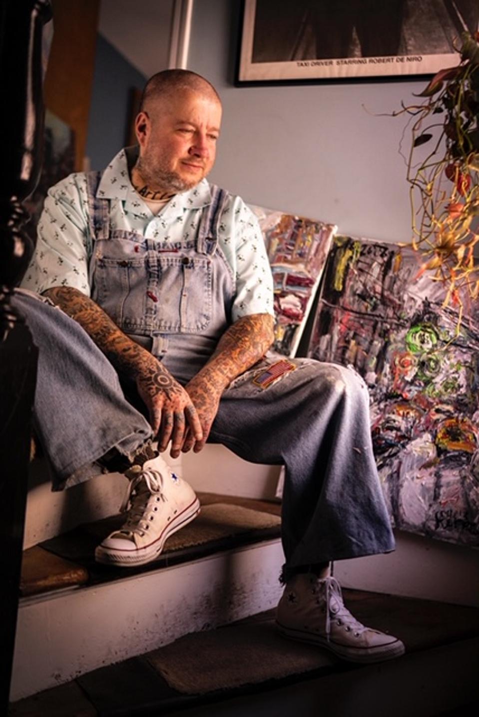 Chris Kappmeier Studio, art, paintings