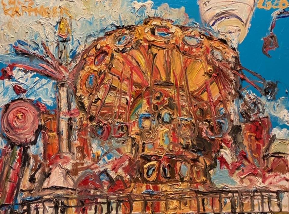 Chris Kappmeier Studio, Coney Island, art, architecture, Brooklyn, New York