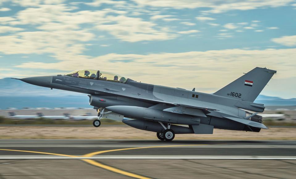 Iraq, Iraq Air Force, F-16, fighter jet,