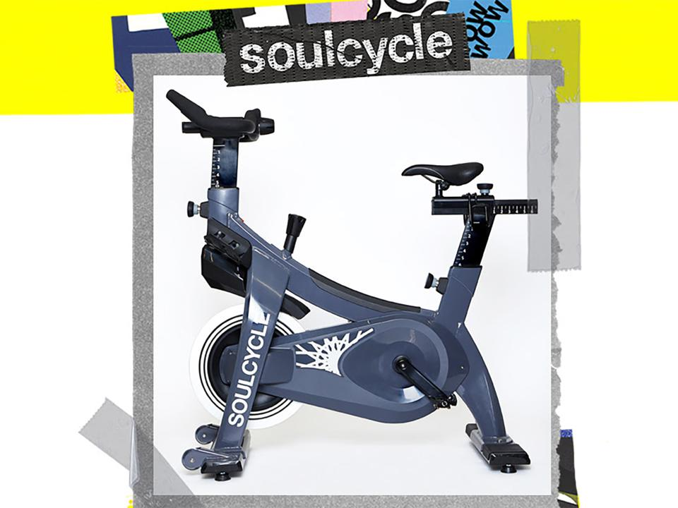 A promo image of the SoulCycle Studio bike.