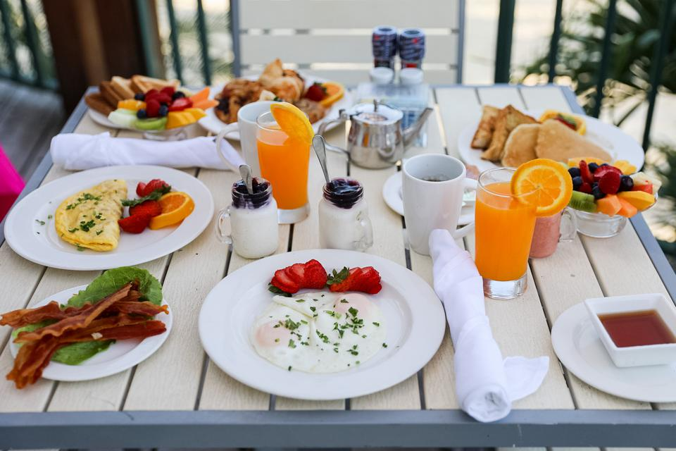 aruba hotels breakfast