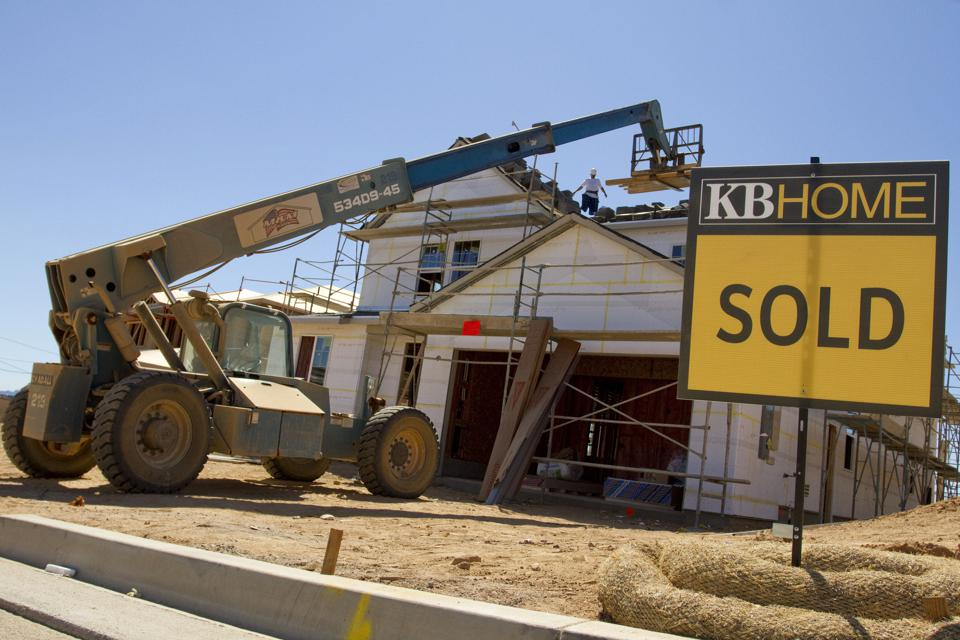 New home sales are surging