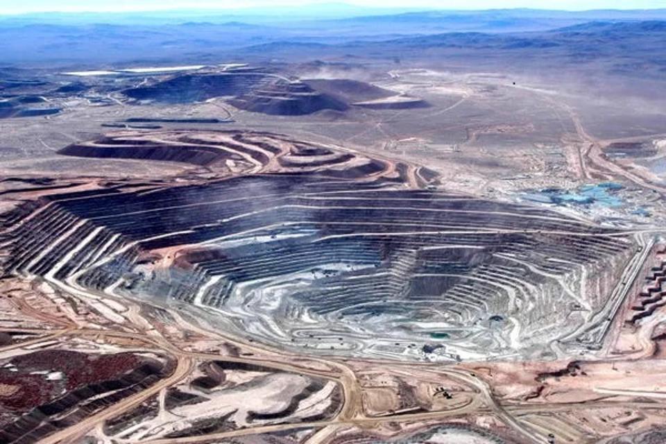 Copper mine in Chile