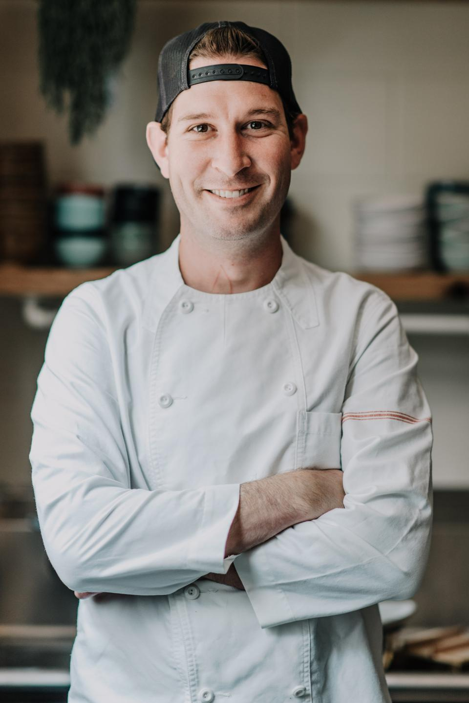 Josh Dorcak is co-chef and co-owner of Mas with Luke VanCampen.