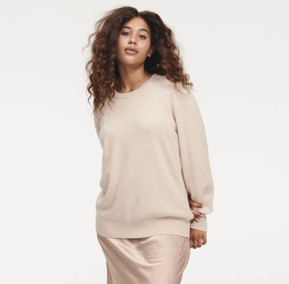 The Essential $75 Cashmere Sweater (Womens)