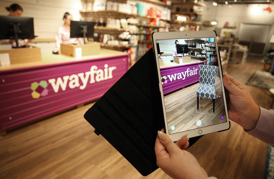 Wayfair Opens First Brick-And-Mortar Store