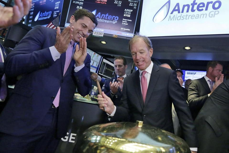 Financial Markets Wall Street Antero Midstream IPO