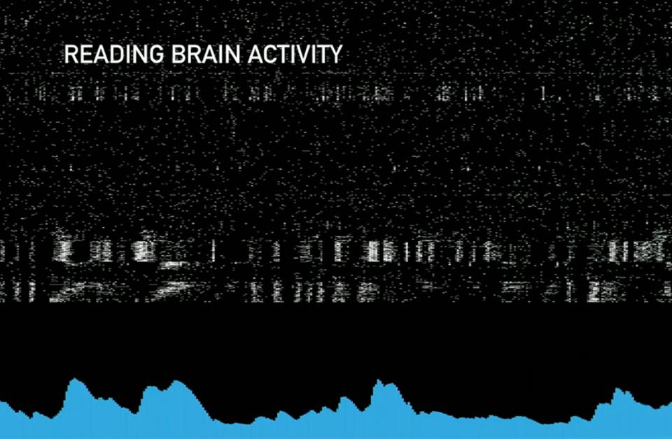 Reading brain activity with an installed Link.