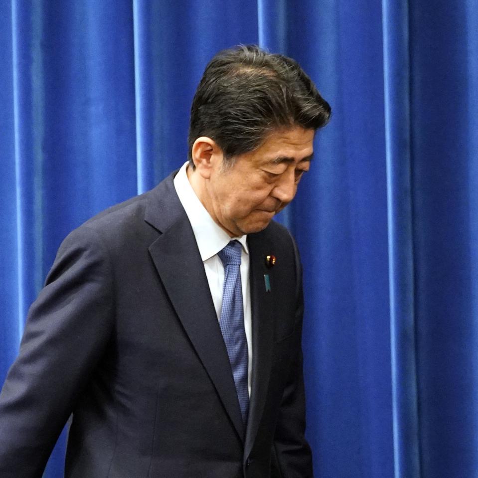 Japan's Prime Minister Abe Announces Resignation