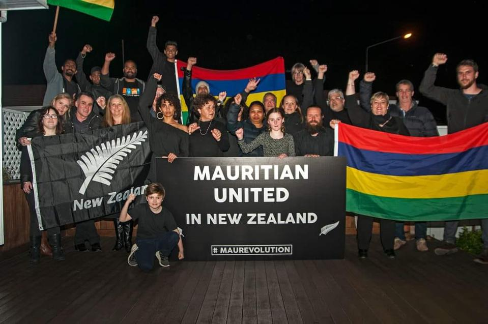 29 August 2020: Mauritian diaspora around the world gathered to show solidarity with the environment and protest at what has been a relatively weak response until now