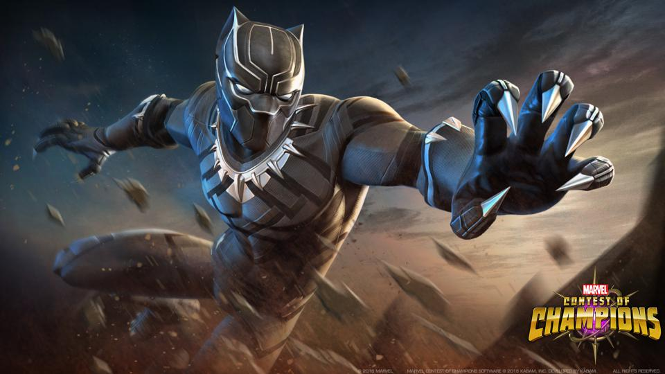 This is Marvel's Contest of Champions, not Fortnite