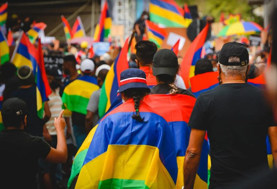 29 August 2020: one of the largest crowds since Mauritius attained independence had gathered in the capital city Port Louis, and peacefully marched to express their frustration with the handling of the Wakashio oil spill