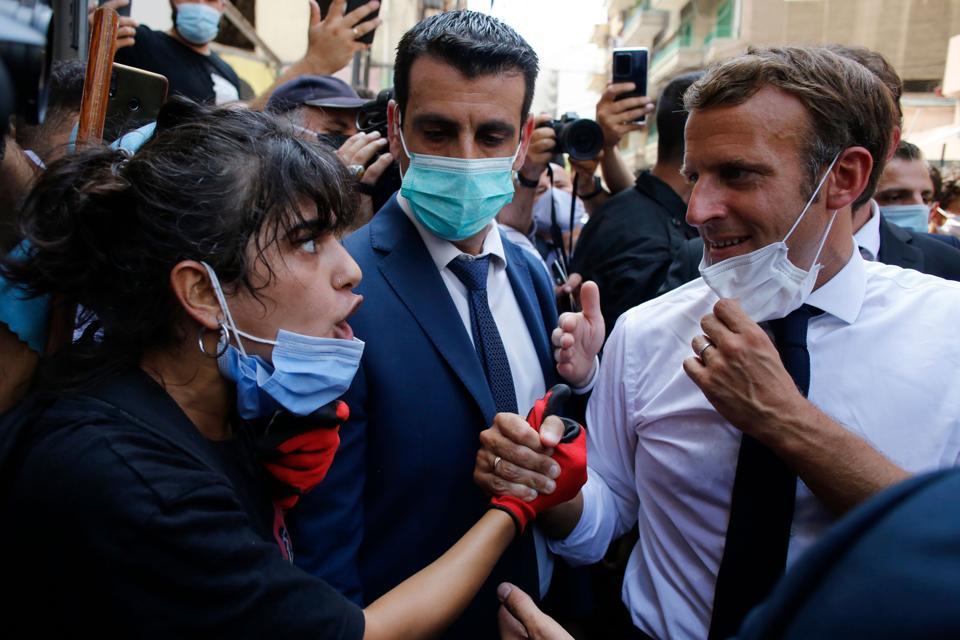 LEBANON-FRANCE-BLAST-DIPLOMACY