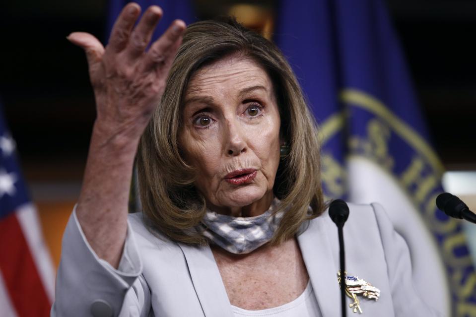 Nancy Pelosi on stimulus deal