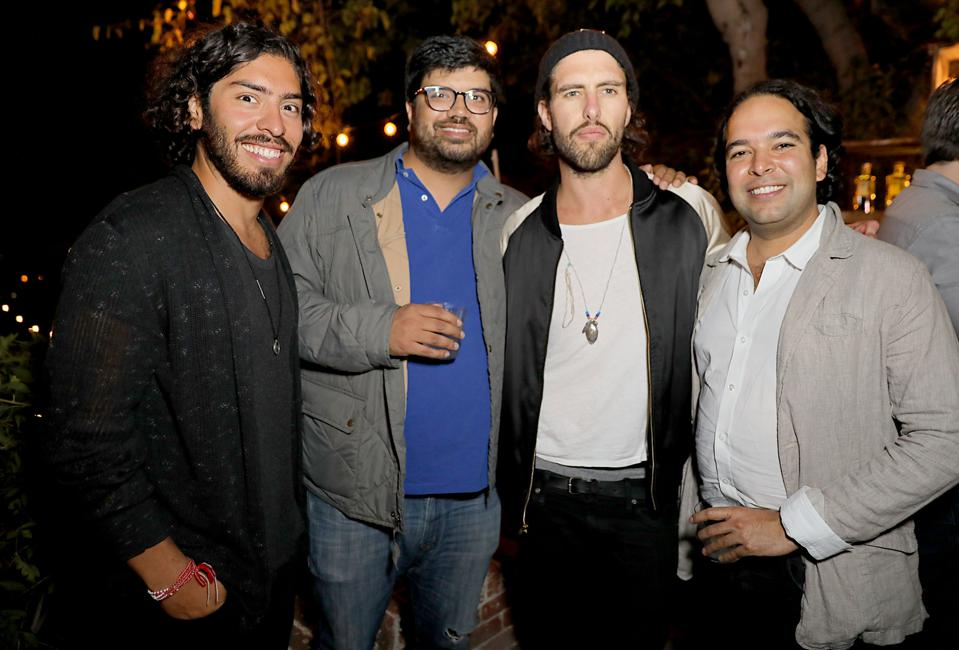 Jonas Tahlin, CEO Absolut Elyx Hosts An Event For Surf Air Members At His Private Residence In Los Angeles