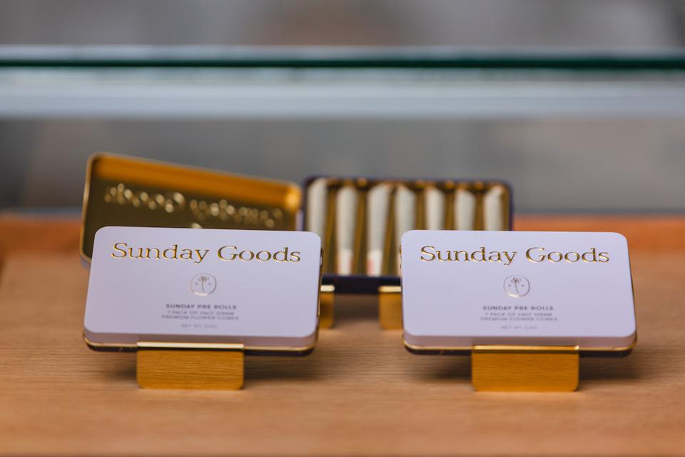 Sunday Goods, pre-rolls, cannabis, joints