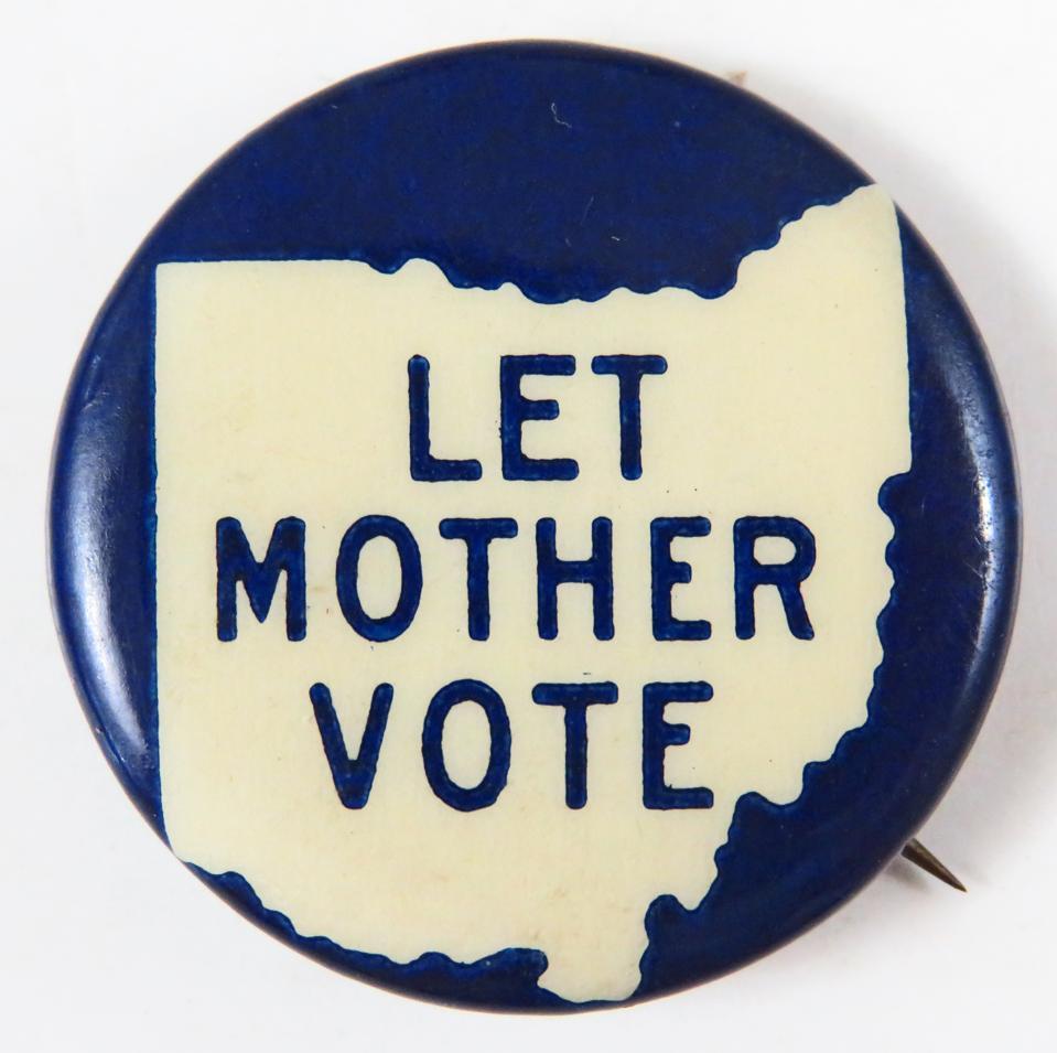 Ohio Suffrage Pin