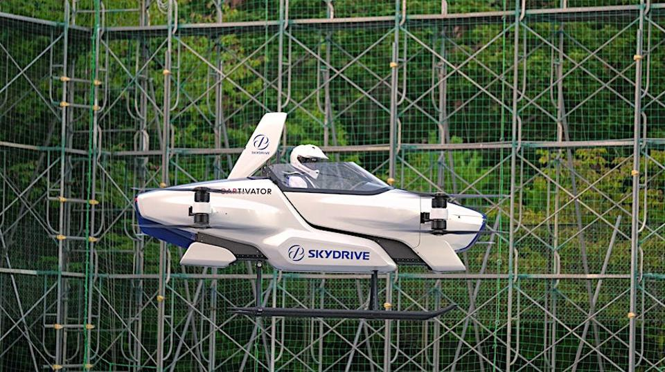 The SkyDrive SD-03 successfully completed its first test flight in early August.