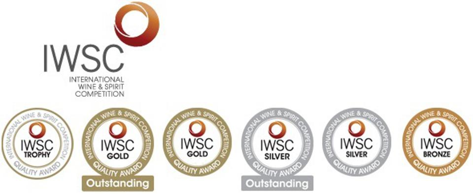The medals awarded by the International Wine and Spirits Competition