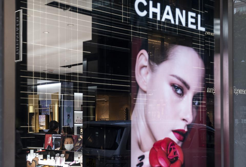 French multinational Chanel clothing and beauty products...