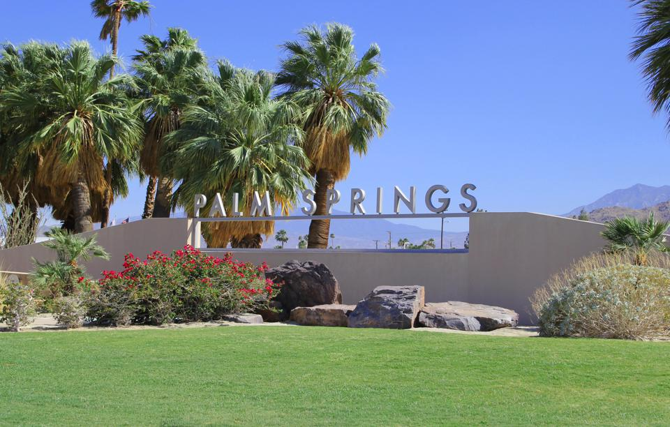 Palm Springs California real estate is in demand