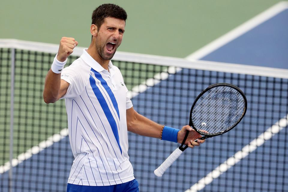Novak Djokovic Rolls Into U S Open At 23 0 In 2020 Looks To Close Major Gap On Nadal Federer