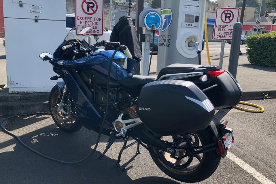 Zero SR/S Electric Motorcycle